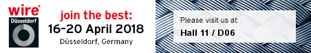 Wire Dusseldorf 2018 - Please visit us at Hall 11, D06