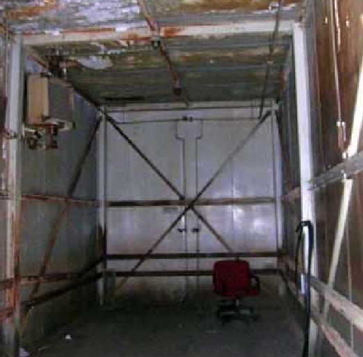 Camera calda, dim. 8,5 x 3,7 x H 4M. T di esercizio 80°C con registracione del ciclo di vulcanizzazione