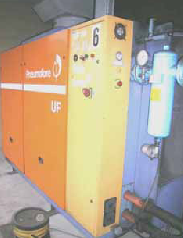 Impianto aria compressa