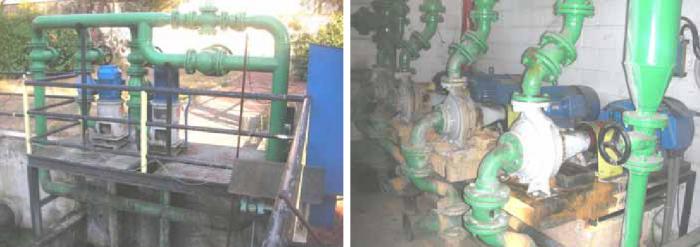 Impianto distribuzione acqua tecnologica e depurazione